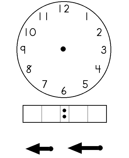 Blank Digital Clock Template  Resume Ideas  NamanasaCom